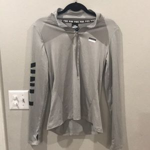PINK Ultimate Gray Pullover